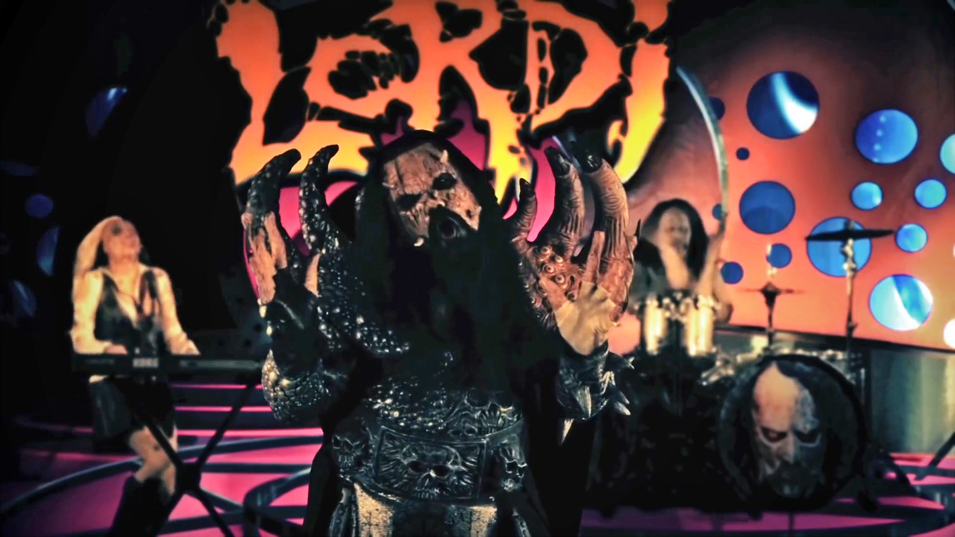 Screenshot from 'Lordi - Hug you Hardcore'