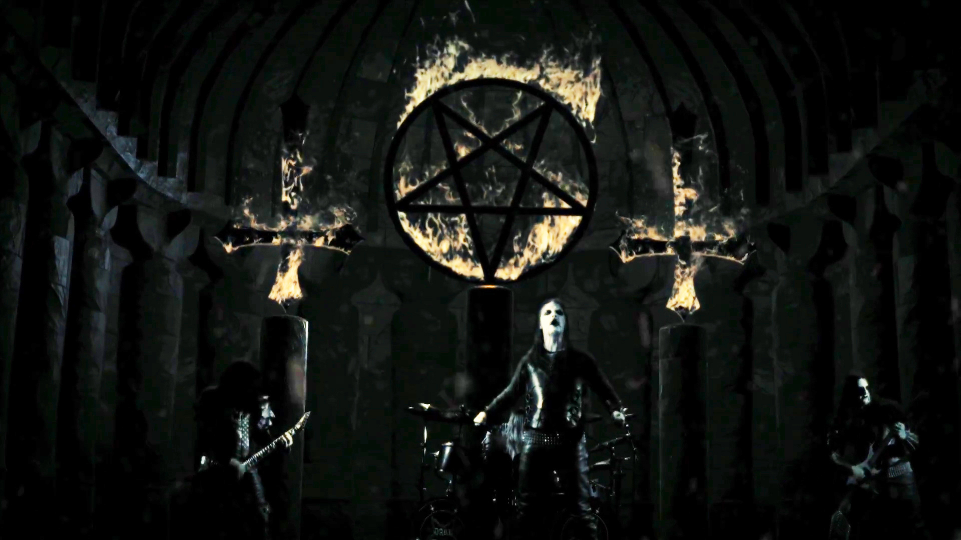 Screenshot from 'Dark funeral - Unchain my Soul'